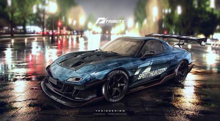 Speed hunters RX7 nfs tribute final 1