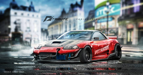 Speedhunters Mitsubishi 3000GT - Need for speed by yasiddesign