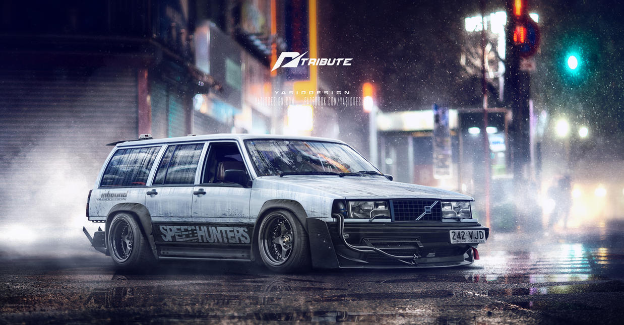 Volvo volvo coupe 2015 : Speedhunters Volvo 940 Need for speed Tribute by yasiddesign on ...