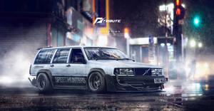 Speedhunters Volvo 940 Need for speed Tribute
