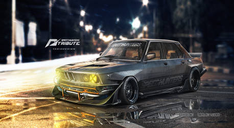 Speedhunters BMW 535i - Need for speed Tribute  -  by yasiddesign