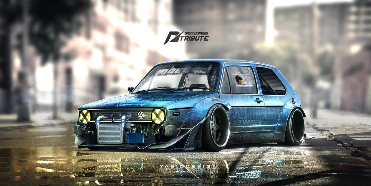 Speedhunters Golf Mk1 Nfs Tribute By Yasiddesign On