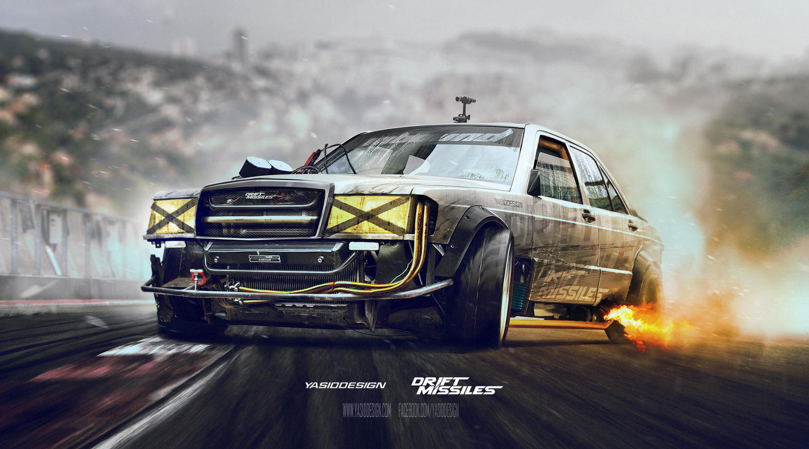 Drift Missile Mercedes W201 By Yasiddesign On Deviantart
