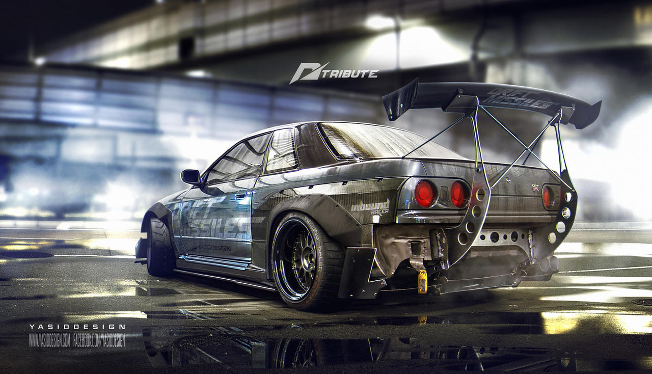Need For Speed Tribute Nissan Skyline R32 By Yasiddesign On Deviantart