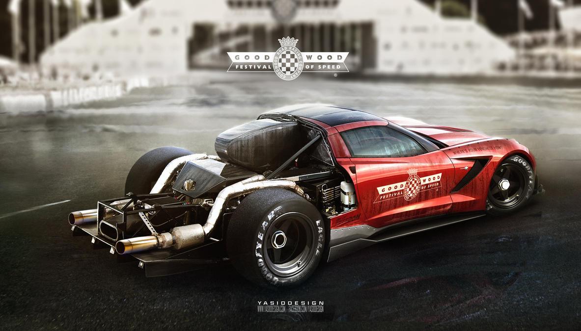C7 corvette hillclimb - goodwood special by yasiddesign
