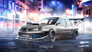 Speedhunters Subaru Impreza STI _ Need for speed by yasiddesign