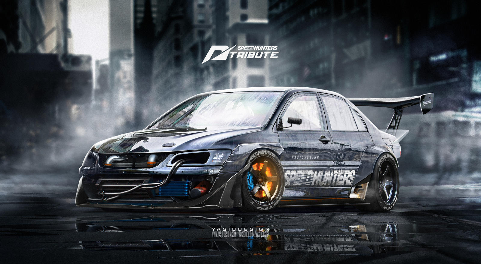 Speedhunters Mitsubishi Lancer EVO 9 _ NFS by yasiddesign on DeviantArt