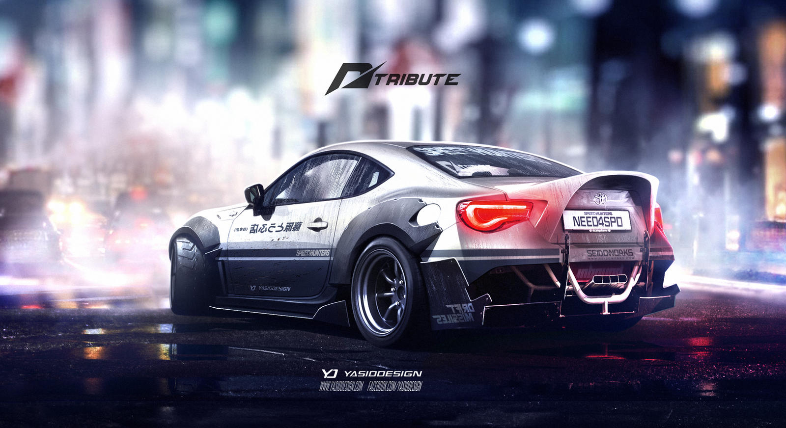 Wallpaper Toyota Supra Sports Car Need For Speed: Speedhunters Toyota GT 86 Need For Speed Tribute By