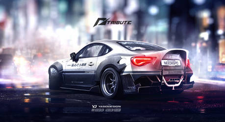 Speedhunters Toyota GT 86 Need for speed tribute