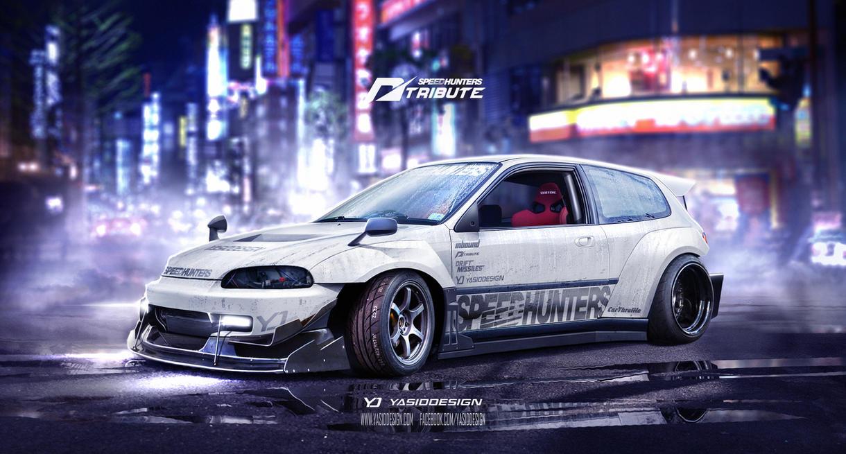 Eg6 wallpaper civic eg6 wallpapers - Speedhuntershonda Civic Eg6 Need For Speed Tribute By