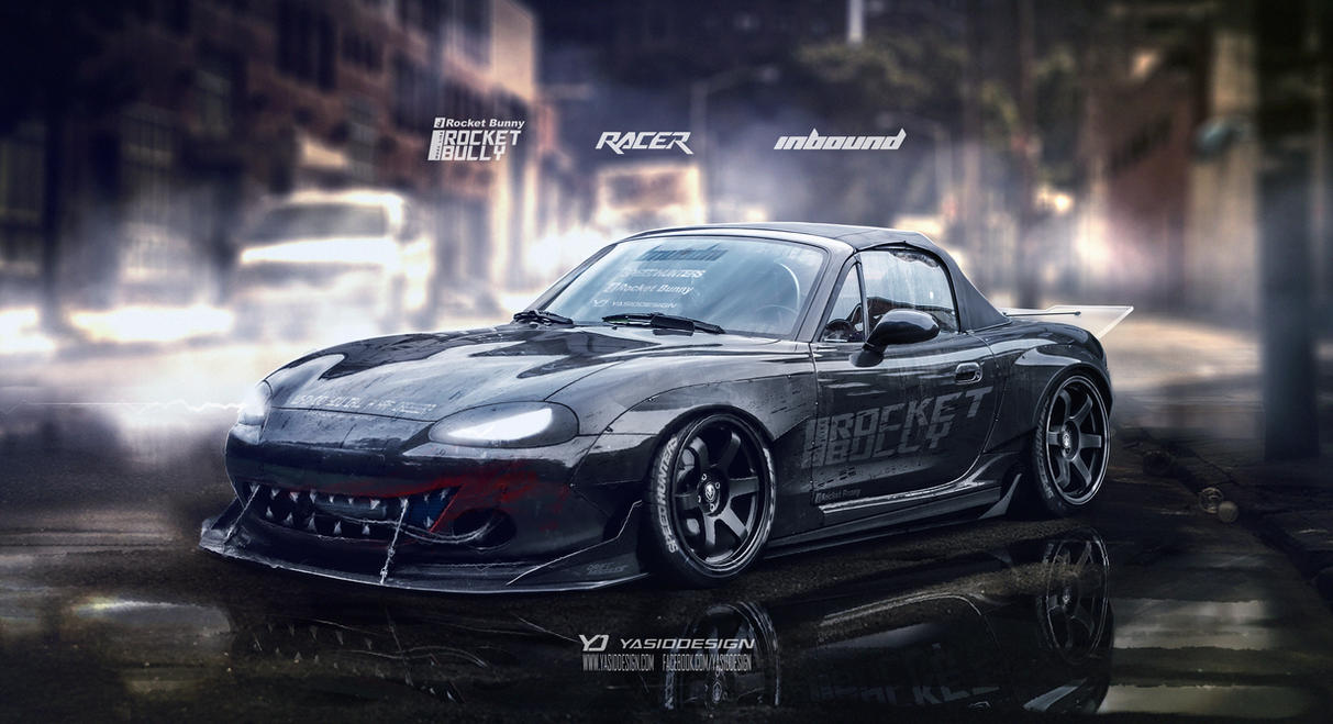 Mazda Mx5 Rocket Bunny By Yasiddesign On Deviantart