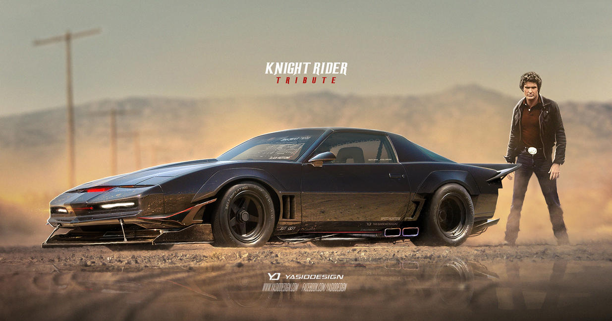 Design A Car >> Knight Rider Tribute Pontiac Trans Ama by yasiddesign on DeviantArt
