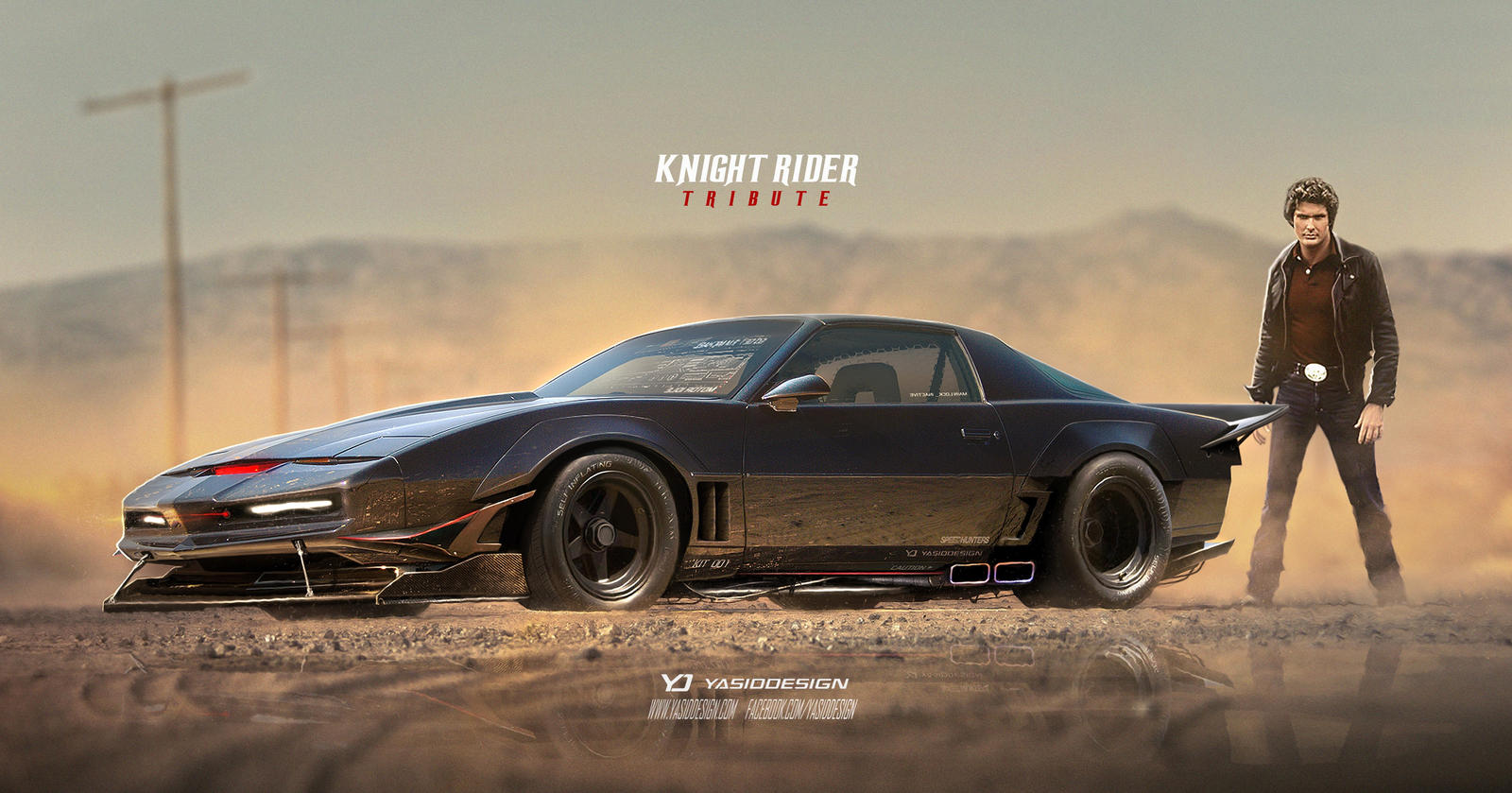 Knight Rider Tribute Pontiac Trans Ama by yasiddesign on ...