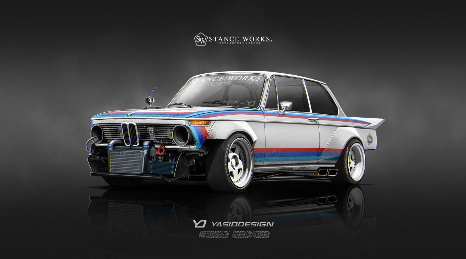 Stanceworks 1974 Bmw 2002 By Yasiddesign On Deviantart