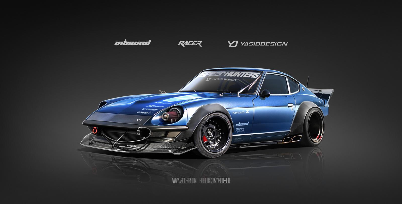 Inbound Racer 240z Datsun Nissan By Yasiddesign On Deviantart