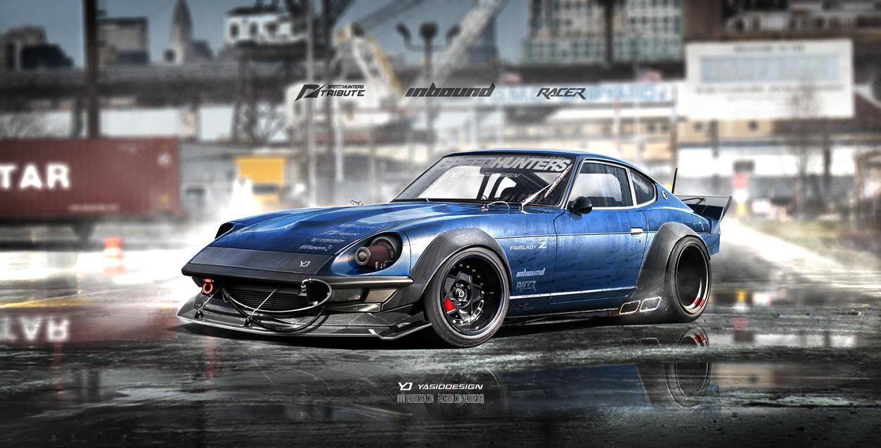 Inbound Racer 240Z Datsun Nissan V2 by yasiddesign on DeviantArt
