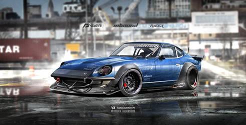 Inbound Racer 240Z Datsun Nissan V2 by yasiddesign