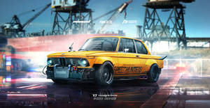 1974 BMW 2002 Speedhunters Need for speed tribute