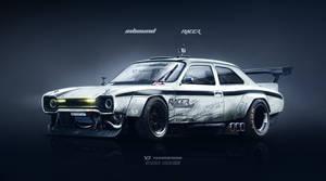 Ford Escort MKI Inbound Racer by yasiddesign