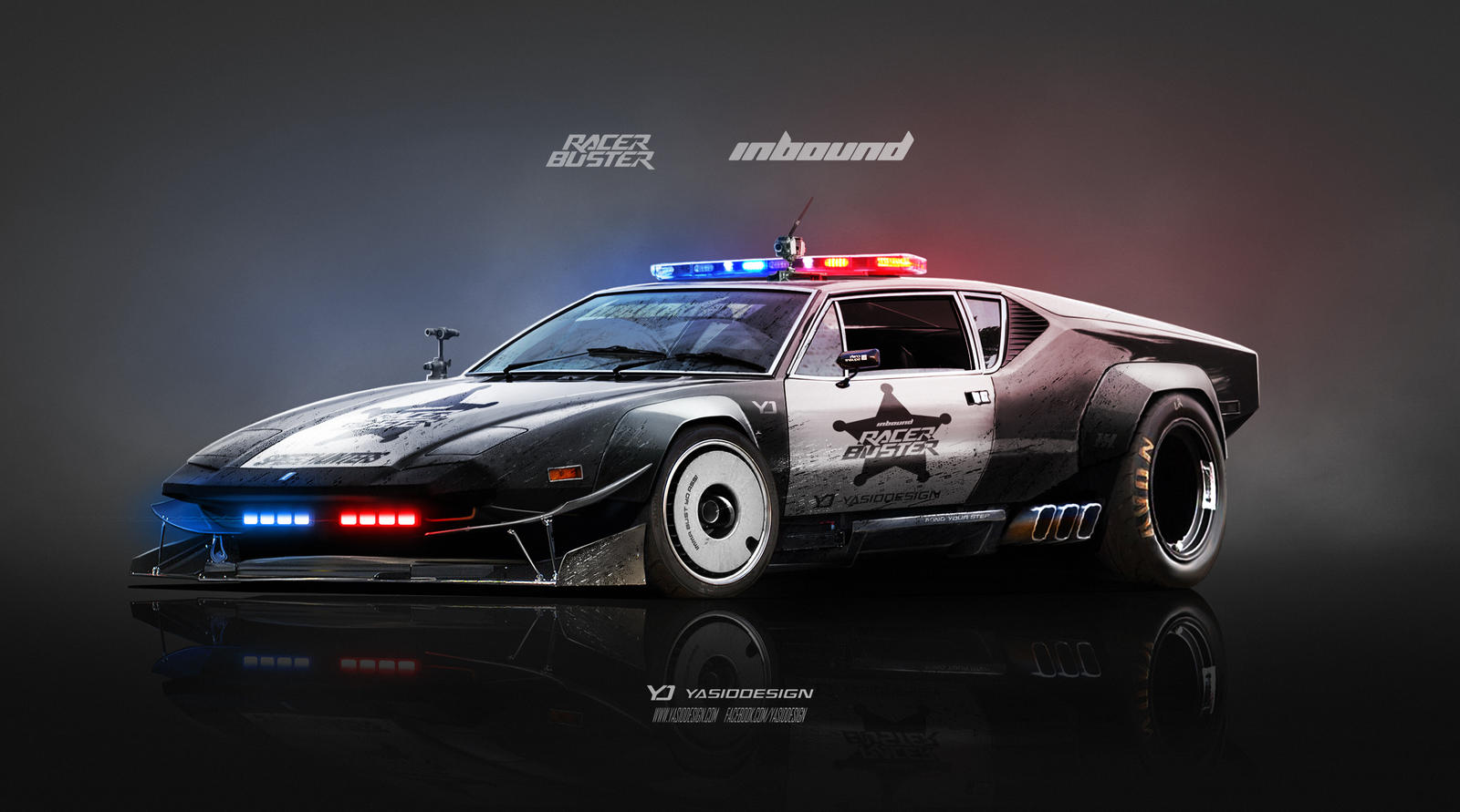 De Tomaso Pantera Inbound racer buster by yasiddesign on ...