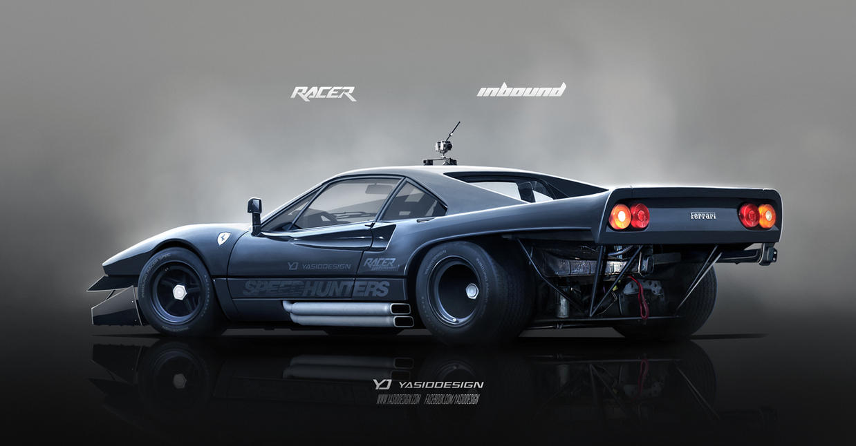 Inbound Racer Ferrari 288 Gto By Yasiddesign On Deviantart