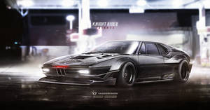 Knight Rider Tribute BMW M1 Procar KITT by yasiddesign