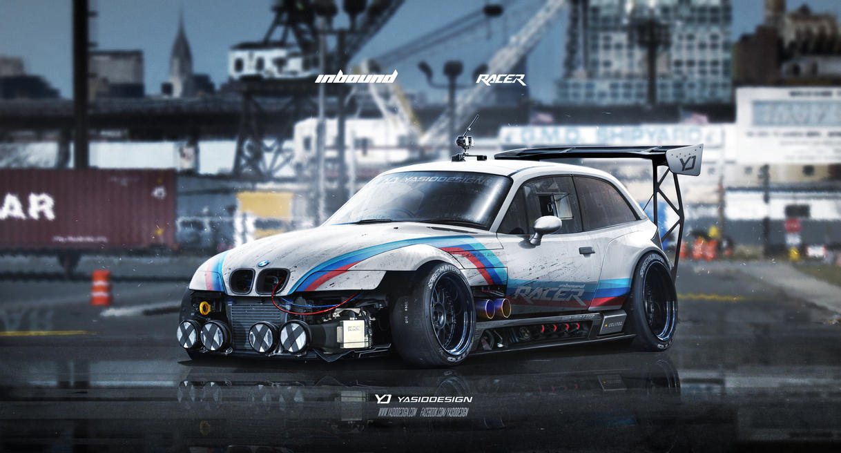 Bmw Z3 M Inbound Racer By Yasiddesign On Deviantart