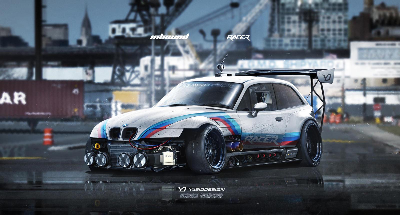 Bmw Z3 M Inbound Racer By Yasiddesign On Deviantart