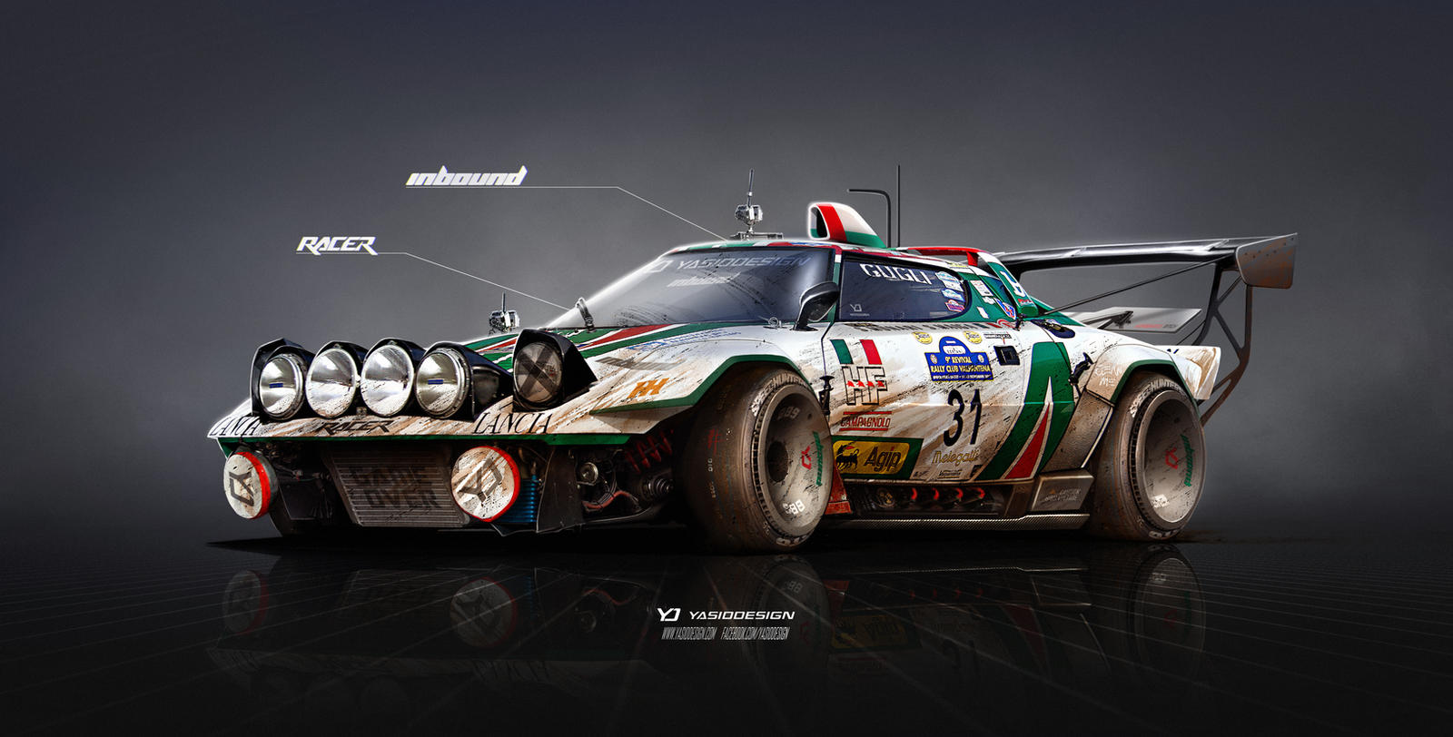 Lancia Stratos On Steroids Inbound Racer By Yasiddesign On Deviantart