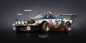 Lancia Stratos on Steroids Inbound racer by yasiddesign