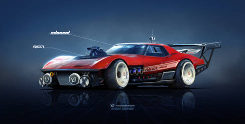 Chevrolet Corvette Stingray Inbound Racer by yasiddesign