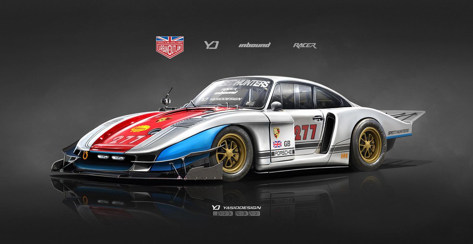Speedhunters Porsche 935 X Magnus Walker Special By