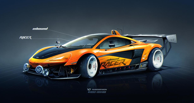 McLaren 570s Inbound Racer by yasiddesign