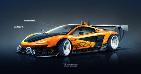 McLaren 570s Inbound Racer