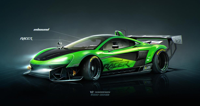 Mclaren 570s Inbound Racer V2 by yasiddesign