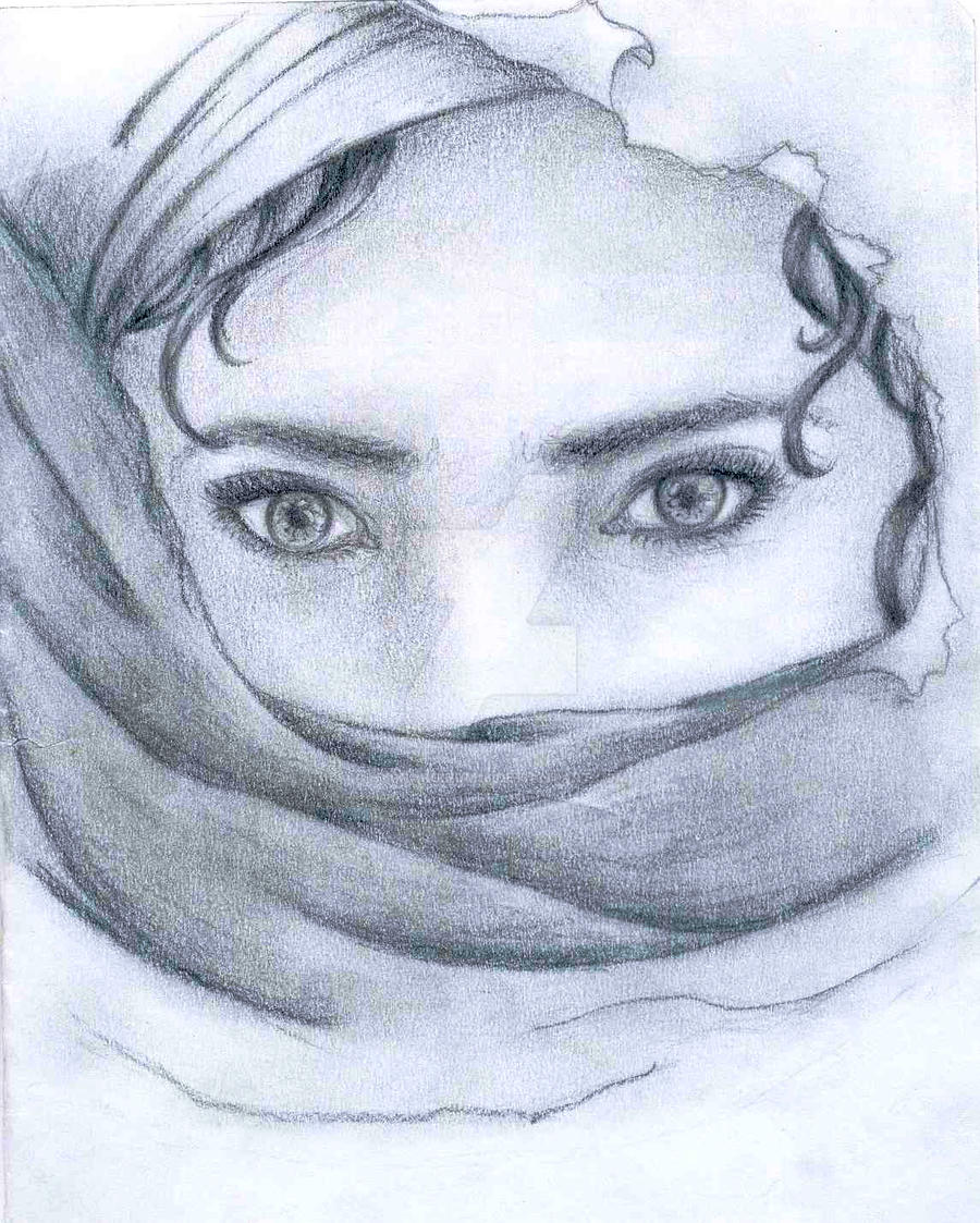 Veiled woman by Hydrargirum16