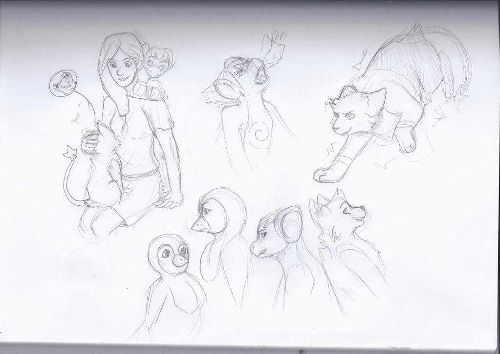 More nuzlocke sketches ! by random-ftw