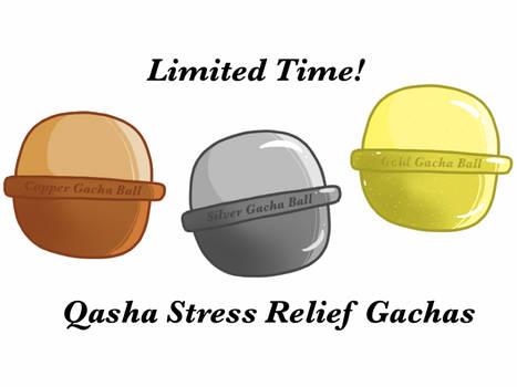 [OPEN] Themed Qasha Gachas