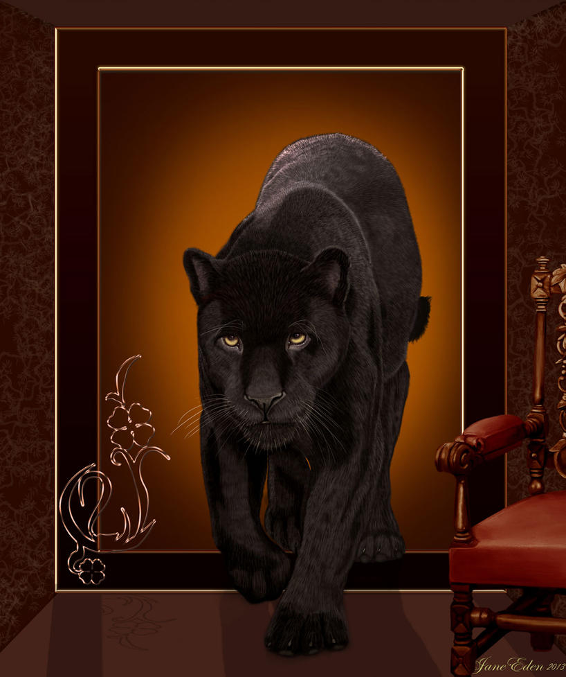 Black Jaguar Lives by JaneEden