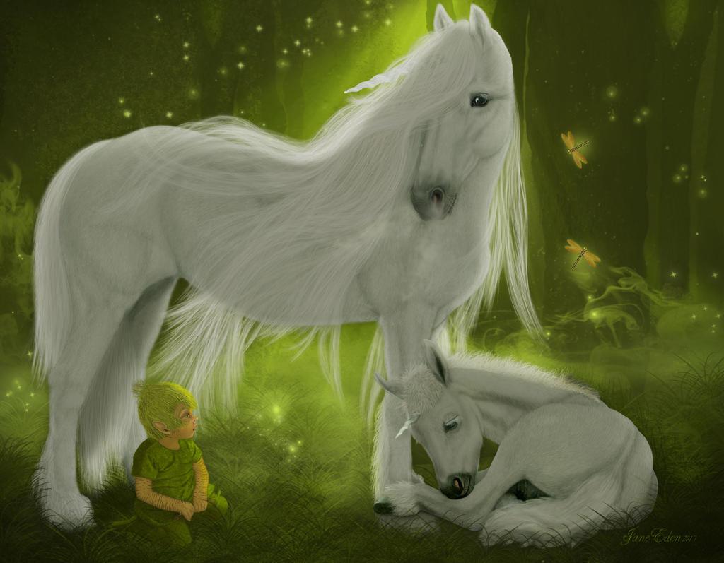 Enchanted unicorn