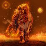 Fire-Horse- by JaneEden