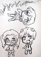Adorable Chibi Us! by LillyInverse
