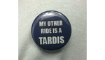 My Other Ride is a Tardis Button