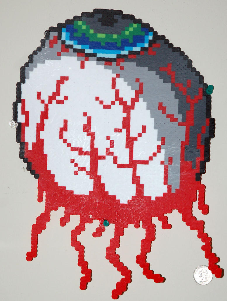 Terraria Eye Of Cthulhu Perler By Lillyinverse On Deviantart