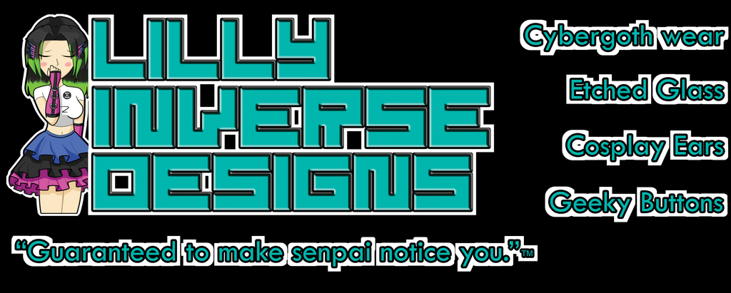 Lilly Inverse Designs Vinyl Banner (Proof) by LillyInverse