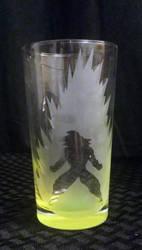 Dragonball Z (DBZ) Goku Etched Glass