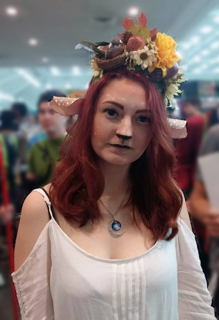 Custom Cosplay / LARPing Faun Ears by LillyInverse