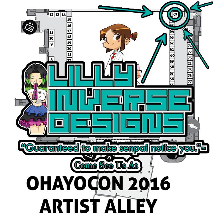 Come See Us at Ohayocon!