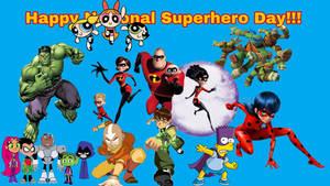 Happy National Superhero Day!!!