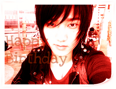 Happy Birthday YeSung Ver2 by SungMinnieSuju